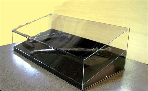 displays by rioux custom acrylic display cases and stands