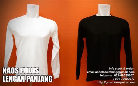 Kaos Lengan Panjang Yes 1 mengenal jenis kaos polos grosir kaos polos andalas