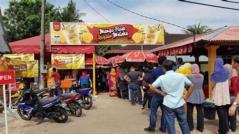 Mango Float 2018 mango float royale original sg putat melaka manggo drinks