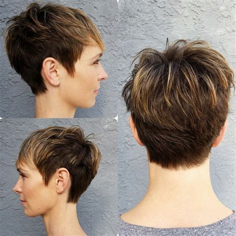 oval face haircuts front and back 20 cute pixie cuts short hairstyles for oval faces