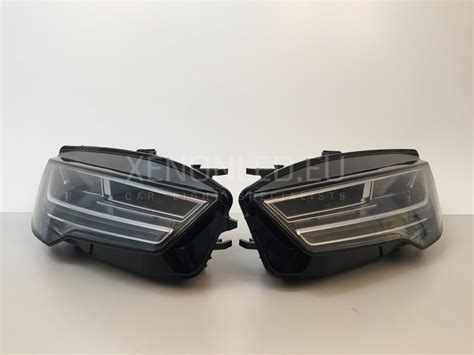 audi matrix headlights audi a7 s7 4g 2014 matrix full led headlights xenonled eu