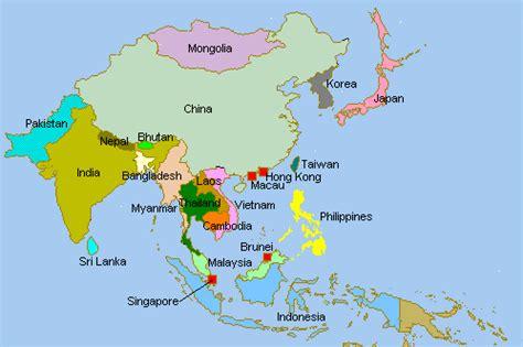 asia map only taamchai asia map awa n