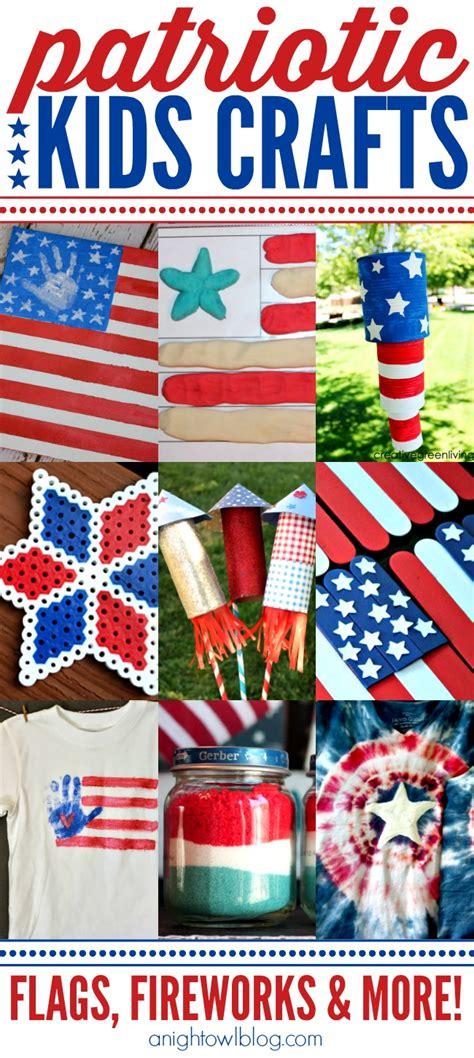 patriotic crafts for patriotic crafts a owl