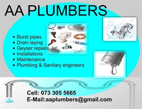 Aa Plumbing by Aa Plumbers Contractors Directory