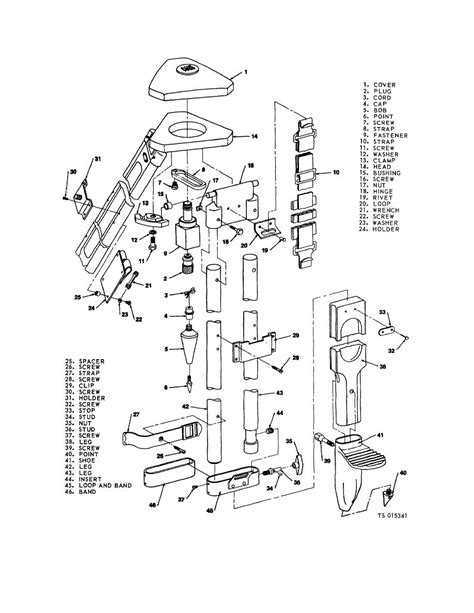 Home Design Diagram Figure 4 3 Tripod Exploded View