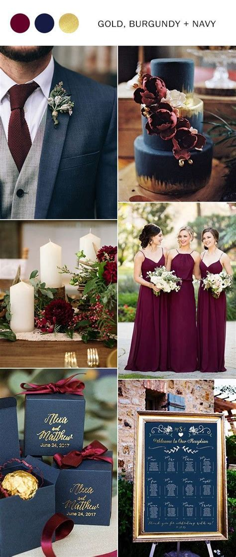 Trending 5 Perfect Burgundy Wedding Color Ideas to Love
