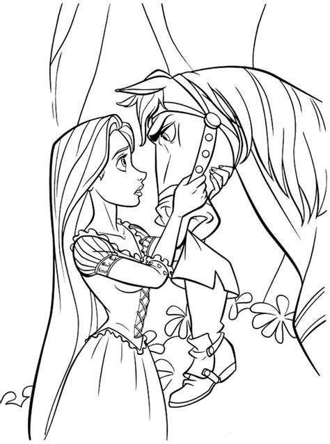 Free Disney Princess Tangled Rapunzel Coloring Sheets For Disney Princess Rapunzel Coloring Pages
