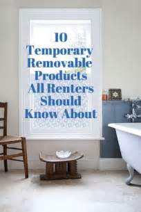 Removable Wallpaper For Apartments by 25 Best Ideas About Temporary Wallpaper On Pinterest