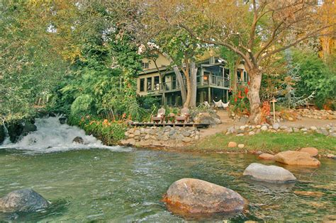house with river running through it kaweah falls vacation home a river runs through it