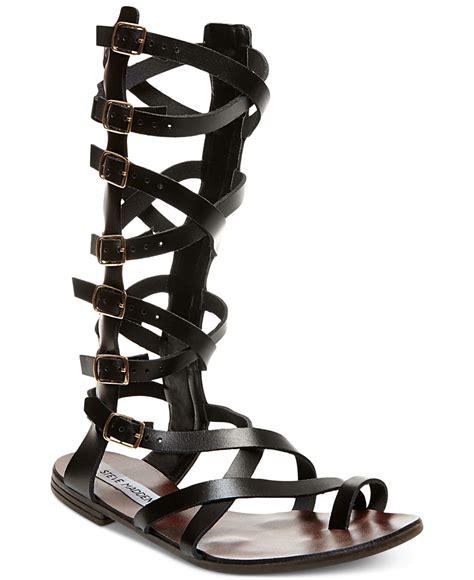 steve madden gladiator sandals steve madden s rivaal flat gladiator sandals in