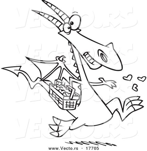 dragons love tacos coloring page vector of a cartoon dragon spreading love coloring page