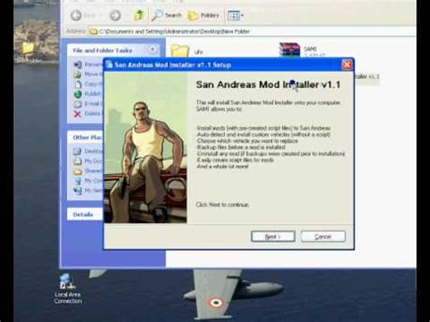 san andreas game mod installer download how to install u f o mod gta san andreas youtube