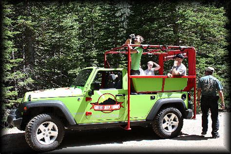 Jeep Tours Colorado Day Trips