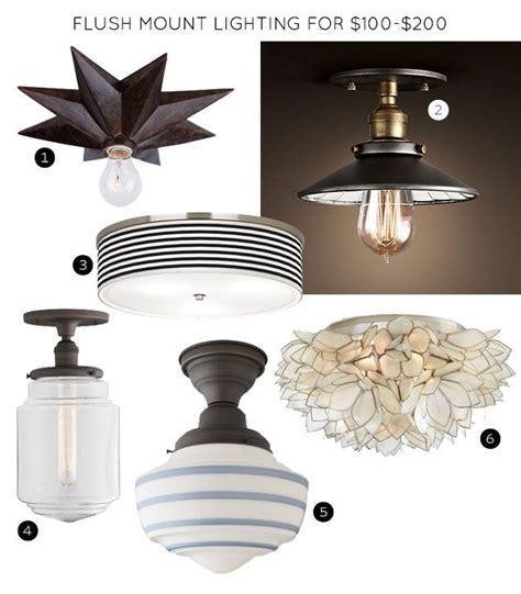 pottery barn flush mount light flush mount lighting fixtures for 100 200 lighting to