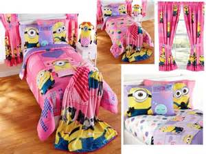 Toddler Bed Sheets Minion New Despicable Me Minions Bedding Bed In A Bag