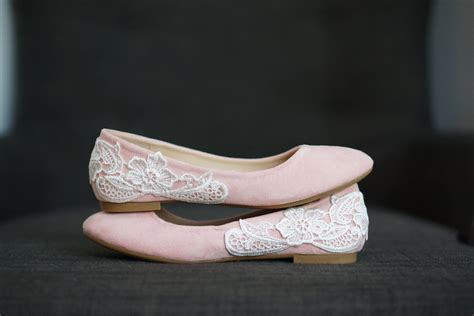 Blush Flat Wedding Shoes by Blush Wedding Shoes Wedding Flats Blush Flats Bridal Flats