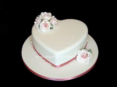 Wedding Cake One Tier by Pat A Cake Single Tier Wedding Cake