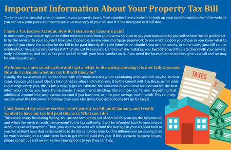 great tax tips valuable information for the tax challenged books important information about your property tax bill the