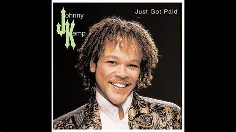 johnny kemp quot just got paid quot singer johnny kemp found dead sun sentinel
