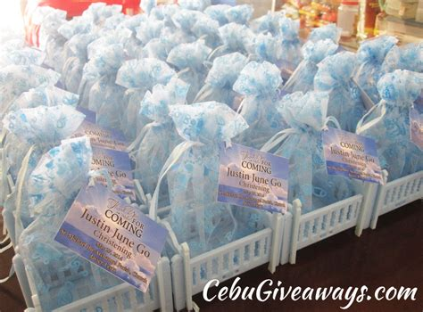 Christening Giveaways Souvenirs - christening giveaways cebu giveaways personalized items party souvenirs
