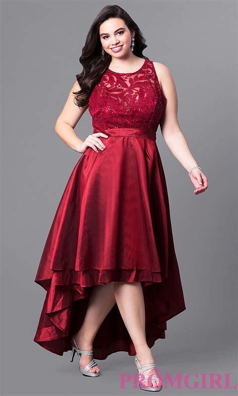 plus size short prom dresses dresses formal prom illusion lace high low plus size prom dress promgirl