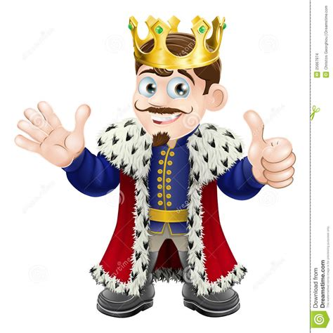 king mascot stock images image 25667974