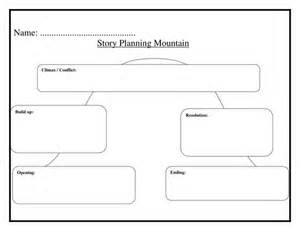 story mountain template recognising fractions by torie1234 teaching resources tes