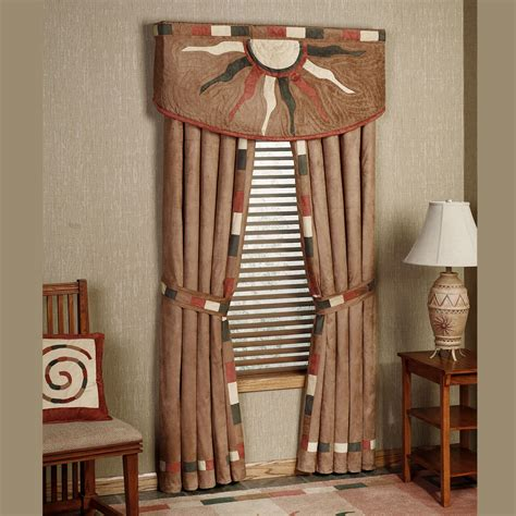 Southwest Style Curtains Curtains Blinds