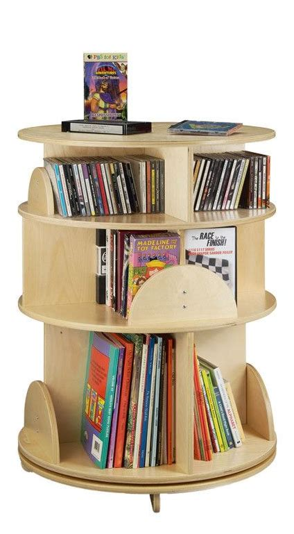 revolving bookcase book carousel furniture design
