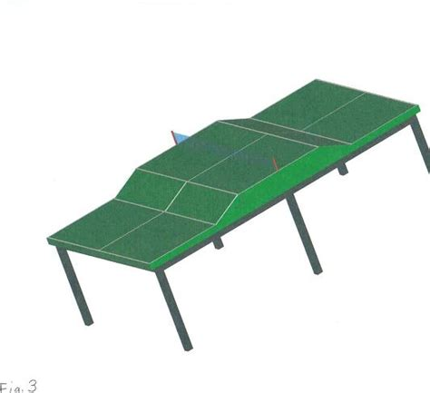 standard pong table size for new ping pong table tops