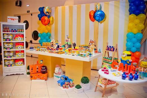 Despicable Me Decorations by Despicable Me Birthday Decoration Ideas