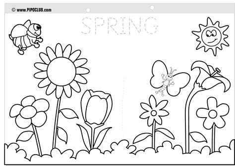 coloring pages to print spring spring coloring pages 2018 dr odd