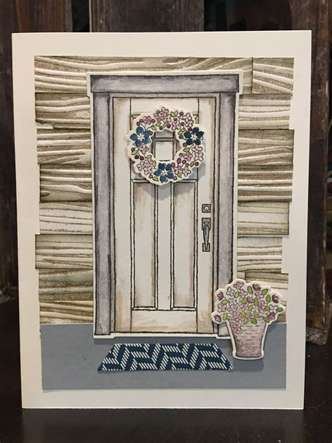stampin   home    home cards