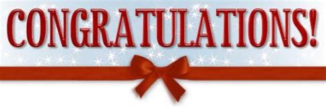Walgreens Monthly Sweepstakes Winners - congratulations coupon clutch winner