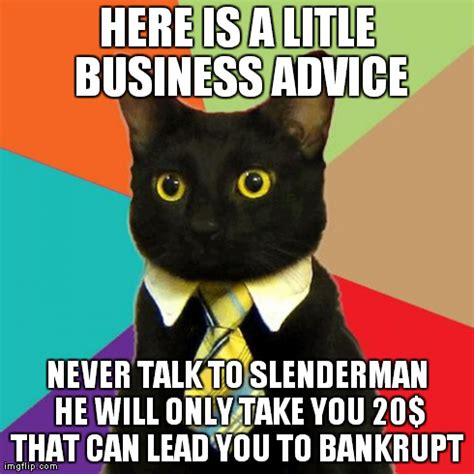 business cat meme imgflip