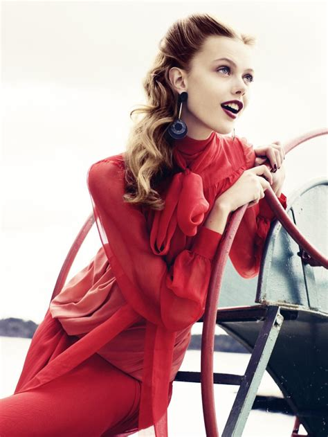 red hair 40s a cup of mary frida gustavsson vogue sweden nov 11