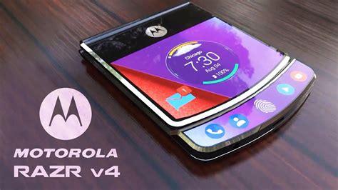Motorola Razr V4 motorola s 1st foldable phone the moto razr v4 2018