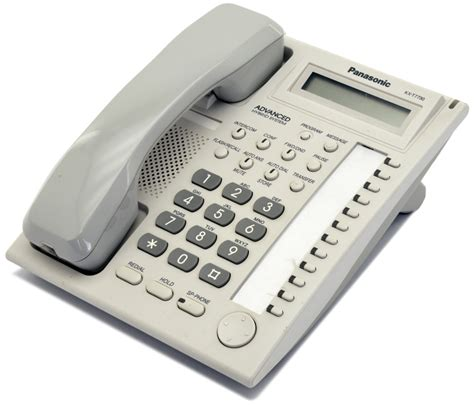 Panasonic Telepon Kx T7730x panasonic kx t7730x w white lcd speakerphone