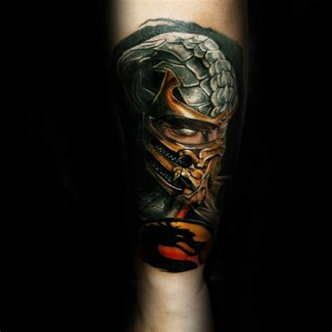 mortal kombat tattoos 70 mortal kombat tattoos for gaming ink design ideas