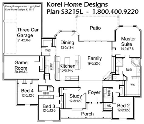 House Plans By Korel Home Designs Love Home Decor Korel House Plans