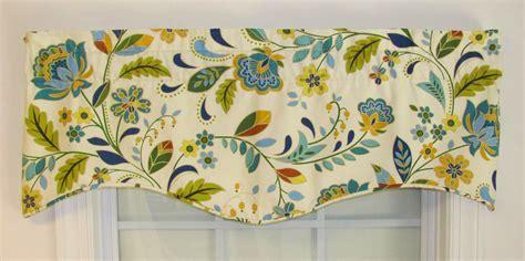 blue pattern valance m valance jewel floral pattern thecurtainshop com