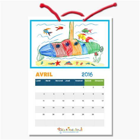 Calendrier Avril 2016 à Imprimer Gratuit Calendrier 2016 224 Illustrer Calendrier 2016