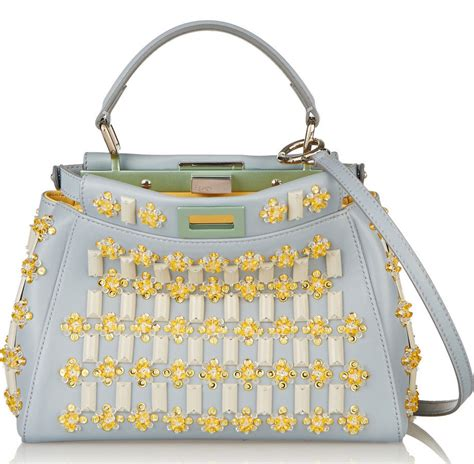 Fendi To You Embellished Convertible Bag by 15 Hyper Embellished Bags That Prove Minimalism Is Not