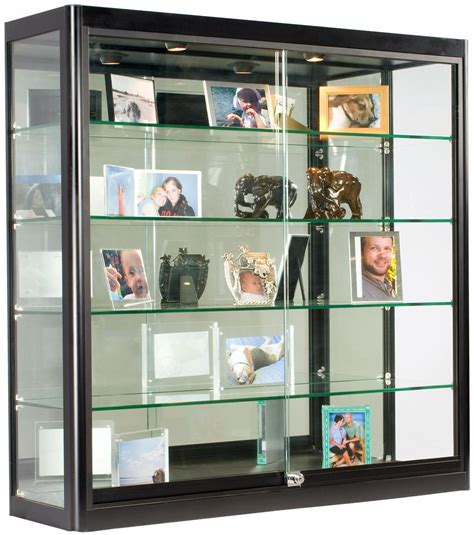 wall showcase black wall showcases square cabinet 12 quot depth