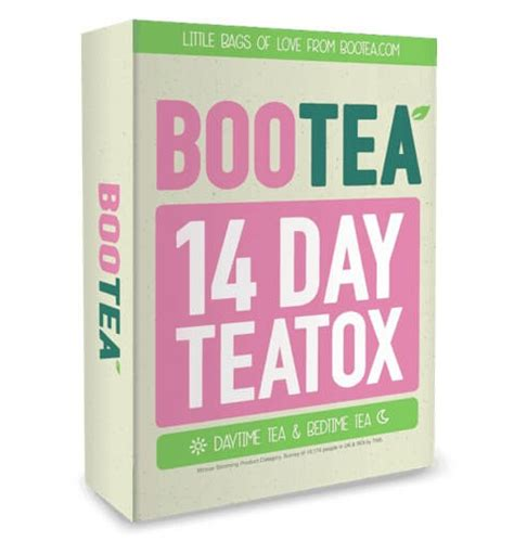 Bootea 14 Day Detox Weight Loss by Teatox How Detox Tea Benefits Weight Loss Update May