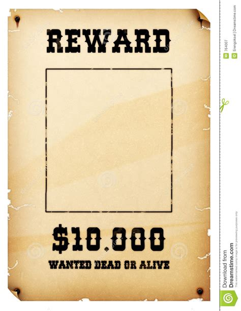 Old West Wanted Poster Clipart Clipground Western Wanted Poster Template