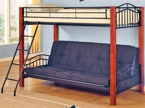 metal bunk beds with mattresses a bedroom with bunk bed decor around the world