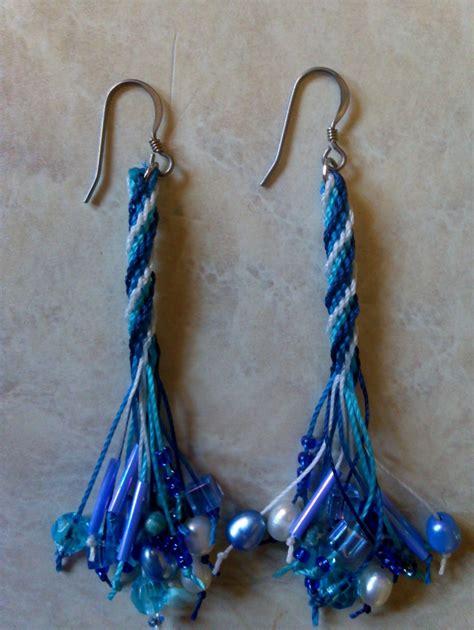 design online kumihimo blue kumihimo earrings craft design online
