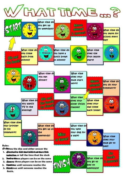 printable language board games 17 best images about free grammar and vocabulary games on