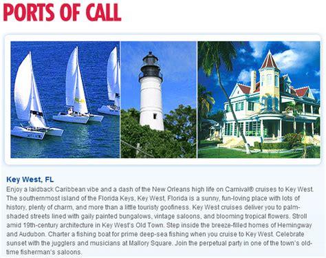rock the boat key itinerary carnival imagination 4 day western caribbean